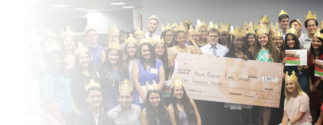 Burger King Scholars Award Winners